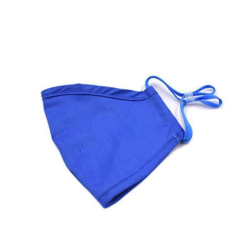 Wiederverwendbar und waschbar, Staubdicht, verbesserte Qualität für Kinder und Mädchen (blau).