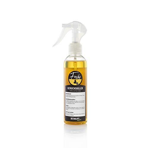 Detailify Geruchsneutralisierer Freshy Auto Geruchskiller Lufterfrischer Geruchsentferner Innenraumspray gegen Nikotingeruch Tiergeruch Rauchgeruch Nanosilber KFZ