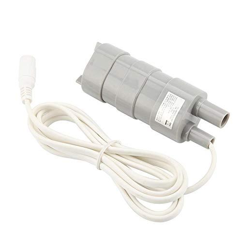 Dompelpomp, DC 12 V, onderwaterpomp, kleine badkamerpomp met stopcontact voor aquarium, zwembad, vijver, aquarium, tuinirrigatie, 600 l/h