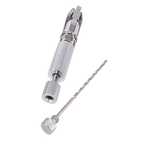 rosenice Utensile di carotaggio di tubo strumento di pulizia Alesatore regolabile raschietto di carbone pipa di fumare