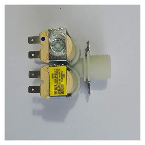 TangMengYun Válvulas de Solenoide Válvula solenoide Doble Doble de Entrada C-516/16-B26 Piezas de Repuesto compatibles con la Lavadora LG