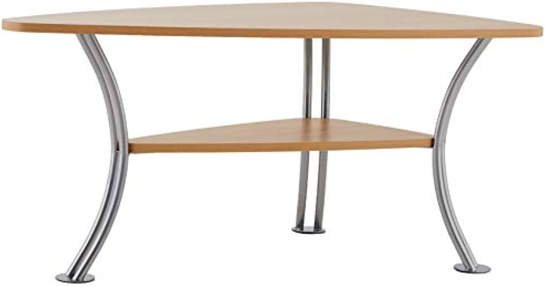 Alfa-Tische M451 Couchtisch Speed, 90 x 55 x 43 cm, Buche Dekor keilfrmig