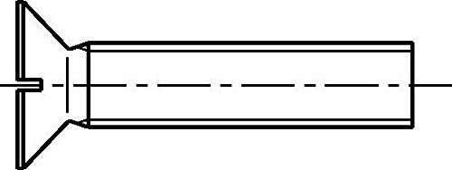 Dresselhaus Six Pans Vis /à bois 5/x 40/mm 200/Pi/èces galvanis/é