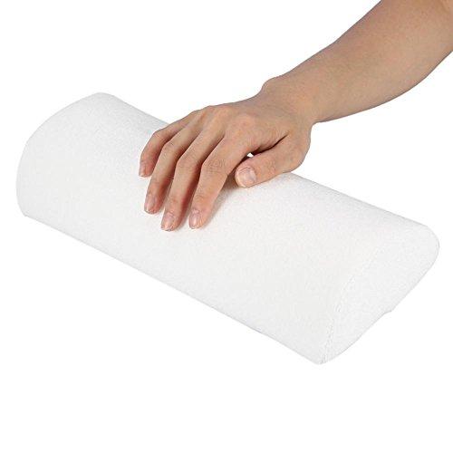 Delaman Weiche Handauflage-Kissen für Maniküre, Nagelkunst, Pflege im Salon