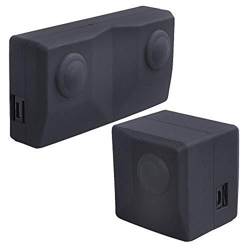 LUXACURY Custodia Protettiva per Insta 360 Evo, Custodia in Silicone per Silicone Protect e Camo Cam Custodia in Silicone per Insta 360 Evo Action Camera Accessories