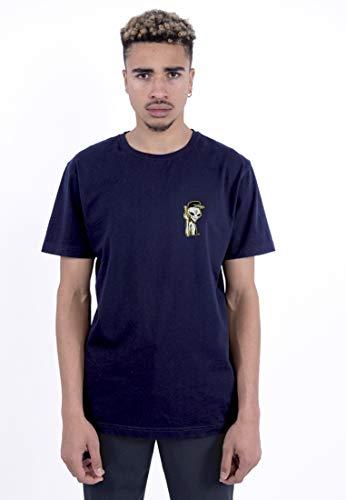 Cayler & Sons Men's C&S WL Space Truckin Tee T-Shirt, Navy/mc, M