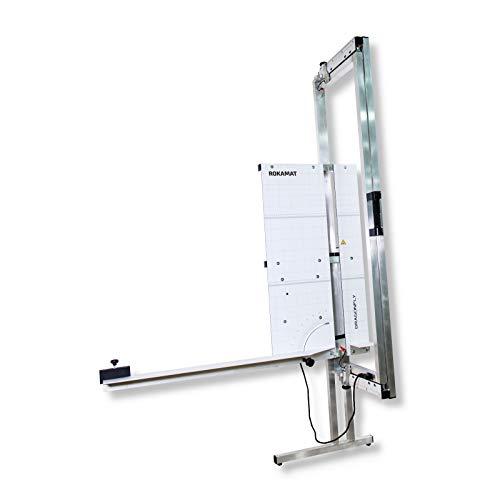 ROKAMAT DRAGONFLY Glühdraht-Schneidegerät mit Power-Akku - Thermisches Schneiden von EPS-Hartschaum-Dämmplatten - inkl. 2 Akkus