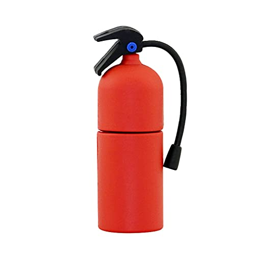 JJZXT Botella de extintor de Incendios Personalizado Creative USB Flash Drive cle USB 256GB 32GB 128 64 8 16 4 GB Memory Stick U Disk (Capacity : 8GB, Style : Style Two)