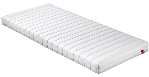 Abeil Basic matras Memory Foam Top, polyester, wit, 190 x 90 x 13 cm
