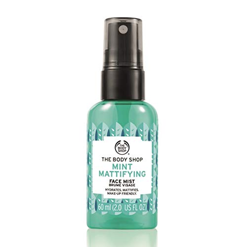 The Body Shop Mint Mattifying Face Mist, 2 Fl Oz (Vegan)