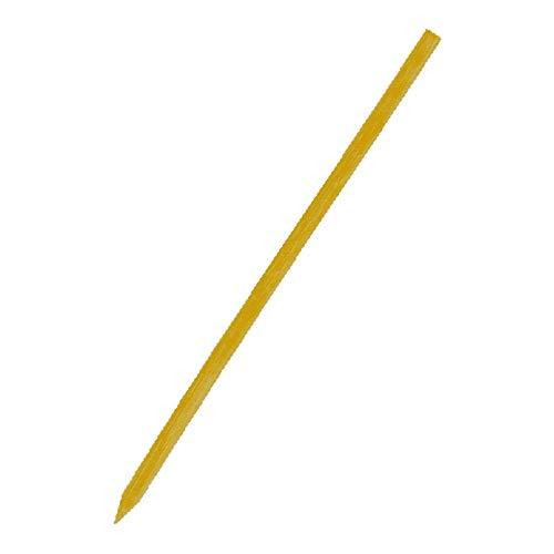 1-PACK Bambus Schaschlikstäbe Bambusspieße robust splitterfrei 15 cm, 400 Stück