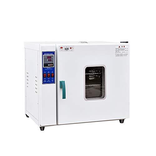 Horno de secado eléctrico, secadora de laboratorio de circulación de aire caliente de acero inoxidable de alta temperatura con pantalla digital