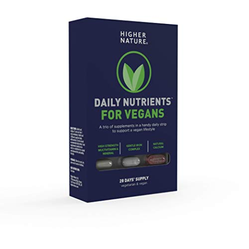 Higher Nature Daily Nutrients for Vegans - 28 Day Supply