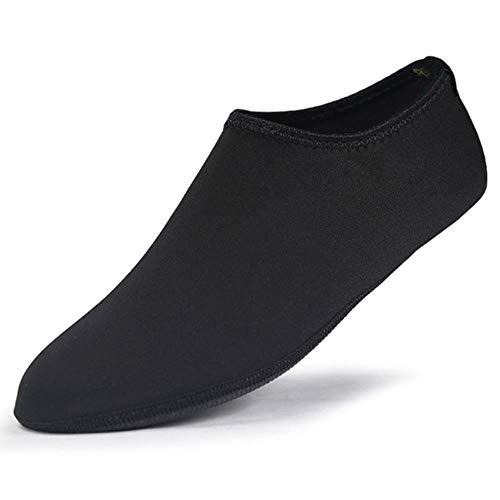 WEIZI 1/5 / 10Pcs Respirable Cómodo SnorkelDeporte De La Natación De Agua Calcetines Anti Slip Zapatos De Yoga De La Aptitud De Danza Beach Calcetines Txtb1,1, XXL