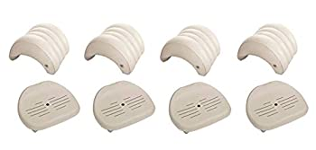 Intex Pure Spa Hot Tub Removable Headrest & Seat Accessories  4-Pack