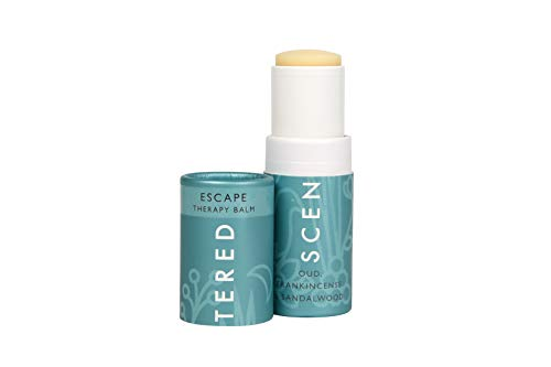 Scentered ESCAPE Aromatherapy Balm Stick - Encourages Feelings of Peace & Tranquility - Frankincense, Sandalwood & Cedarwood Blend