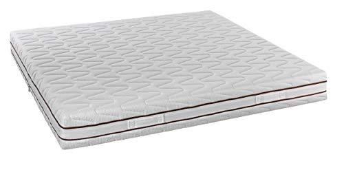 InHouse SRLS Matratze Made in Italy_800 Memory Zip Federkernmatratze Einzelbett 90 x...