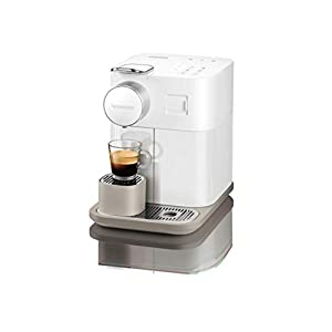 De'Longhi Nespresso Gran Lattissima EN650B – Cafetera monodosis de cápsulas (con depósito de leche compacto, 19 bares, 9 recetas, apagado automático) color blanco