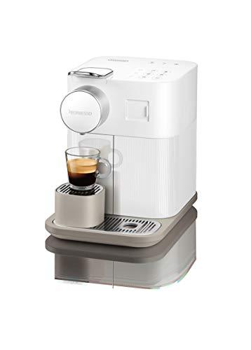 De'Longhi EN650W Nespresso Gran Lattissima capsulemachine, koffiezetapparaat met melkopschuimer, voor 6 koffie-melkdranken per vingertop, 36.7 x 20.3 x 27.6 cm, wit