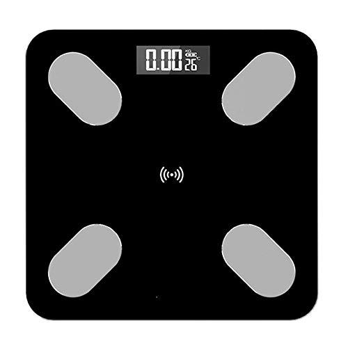 LQH Waage Bluetooth App Körperfettwaage, Smart Electronic Scientific Gewicht Home Bad Digitalwaage, 180 kg