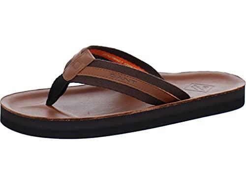 GANT Palmworld Beach Sandal, Uomo, Cognac, 41 EU
