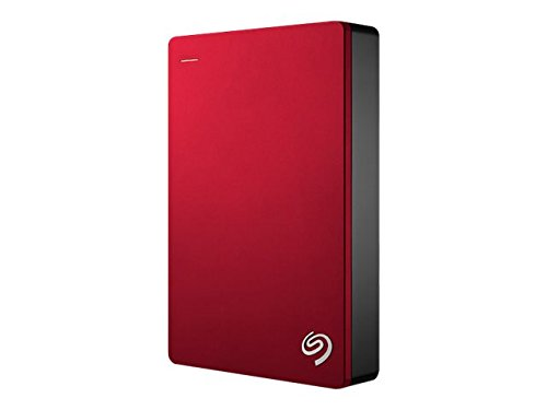 Seagate Backup Plus Portable 4TB External Hard Drive HDD – Red USB 3.0 for PC Laptop and Mac, 2 Months Adobe CC Photography (STDR4000902)