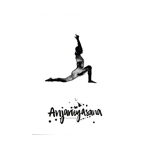Formart Postkarte Yoga Halbmond Anjaneyasana