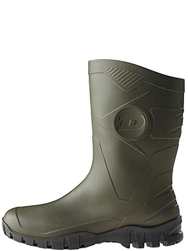 Dunlop Dee, Botas de Caucho Unisex, Verde (Green 001), 43