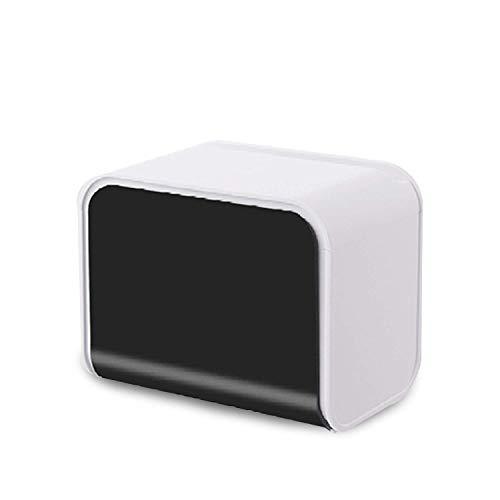 ABWYB Portarrollos de plástico para Papel higiénico, Caja de Papel higiénico Multifuncional para baño Independiente, Resistente al Agua, Soporte para Papel higiénico Autoadhesivo, Resistente, Apto