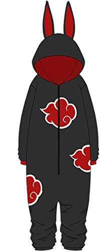 Adonis Pigou Anime Cosplay Pajamas Unisex Onesie One-Piece Homewear Costume Halloween Black