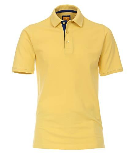 Redmond - Herren Poloshirt aus Baumwolle, Regular Fit (940), Größe:XXL, Farbe:Gelb(40)