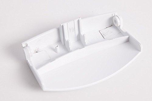 daniplus - Maniglia per porta per lavatrice AEG Electrolux Lavamat, EWF - 110825400/2, 1108254002, colore: Bianco