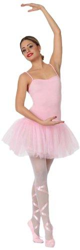 Atosa - Disfraz de mujer bailarina ballet, color rosa, M-L (15581)