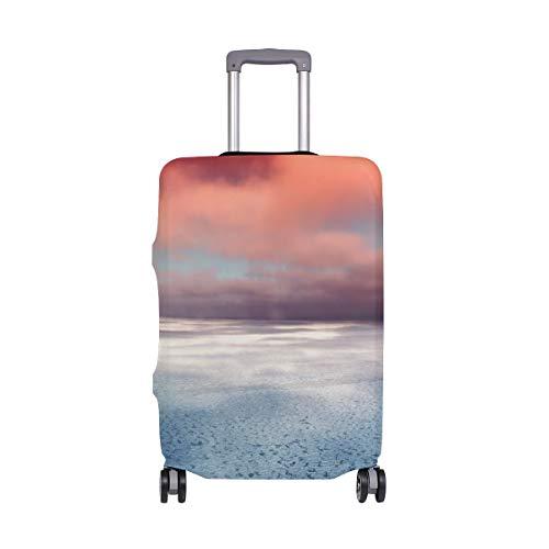 AJINGA Hudson Bay Canada Horizon Travel Bagage Protector koffer Hoes L 26-28 in