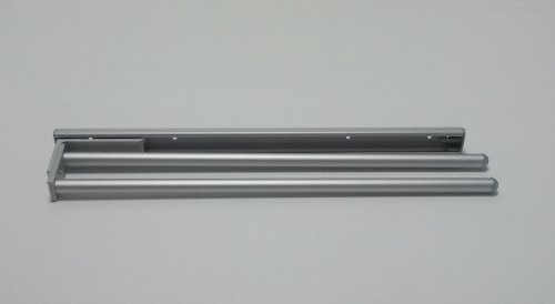 Naber Handtuchhalter De Luxe, 2-armig, 95 mm, silber