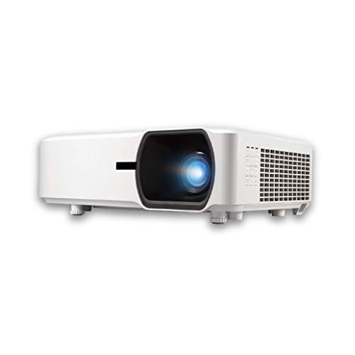 ViewSonic LS750WU 5000 Lumens WUXGA Networkable Laser Projector with 1.3X Optical Zoom Vertical Horizontal Keystone and Lens Shift for Large Venues