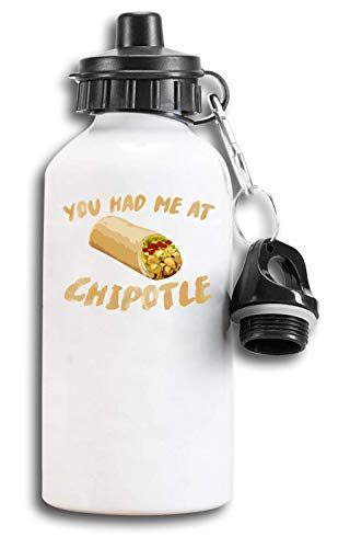 Iprints Mexican Burrito You Had Me At Tourist Water Bottle