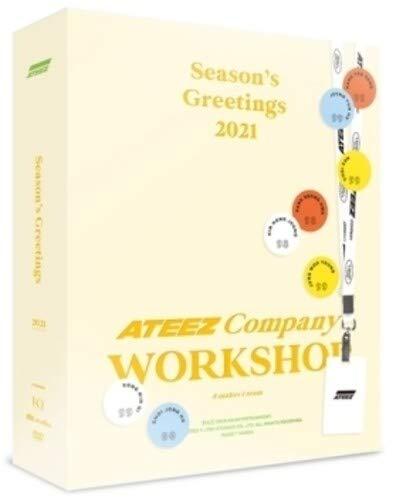 ATEEZ 2021 Seasons Greetings (incl. Random Transparent Photocard Set) |
