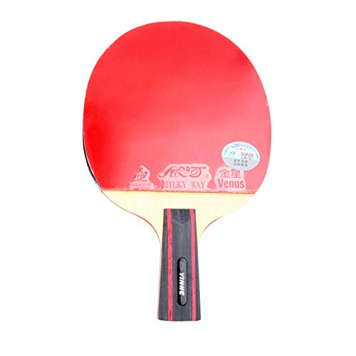 Lowest Price! Pure Wood Beginner Table Tennis Bat,Intermediate Ping Pong Paddle-Band Case,for Indoor...