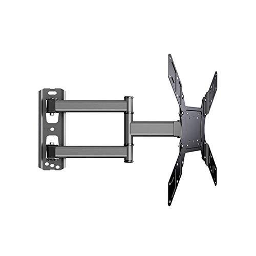 Soporte de TV Soporte de pared para TV Soporte de soporte de TV Extensión giratoria para televisión de 26-50 pulgadas Soporte de TV de 400Mm 400X400 Se adapta a televisores de hasta 88 libras, soporte