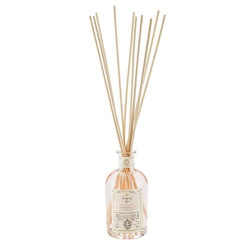 LOGEVY - Parfumeur pour environnements 250 ML pour Le Bien-être de la Personne et de la Maison - Pivoine en Fleurs