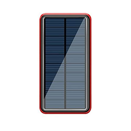 Paquete de batería Solar de 8000 mah, Banco de energía inalámbrico, Cargador de teléfono móvil portátil de 4 USB para Xiaomi para Samsung para iPhone