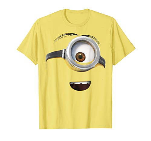Despicable Me Minions Happy One-Eyed Face T-Shirt