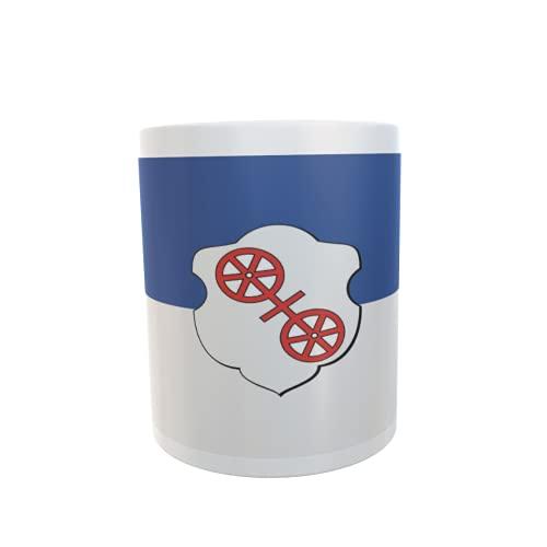 U24 Tasse Kaffeebecher Mug Cup Flagge Fritzlar
