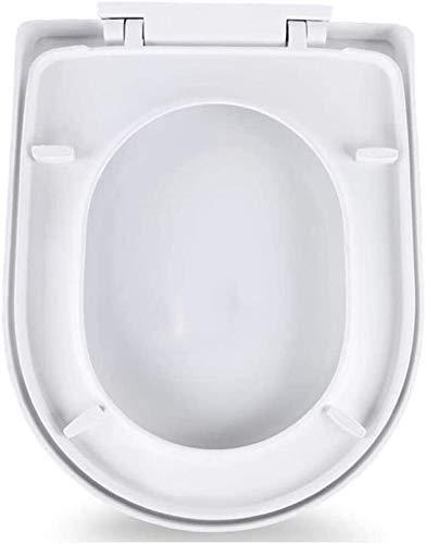 ZHPBHD Toilet Seat U Universale La Figura Toilet Seat con Slow Down ispessite igienici Coperchio for Bagno e Bagno