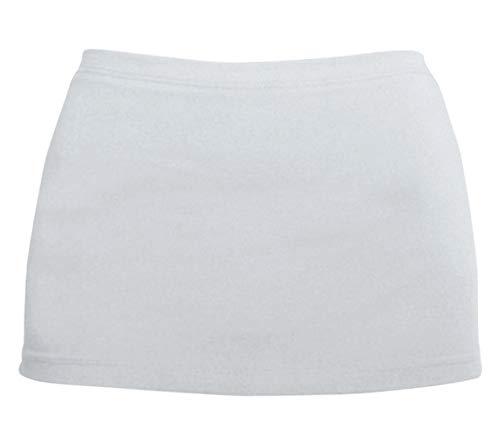 Kosher Casual Women's Modest 'Hippies' Half Cami-Shirt Layering Extension XL White