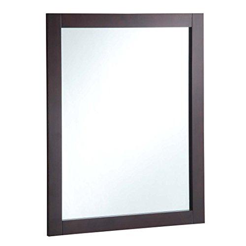 "Design House 547083 24X30 ESPR Wall Mirror, 24"", Espresso"