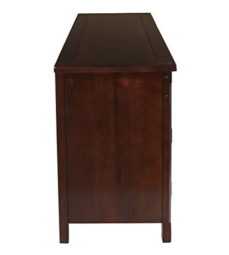 New Classic Furniture Entertainment Console, 52-Inch, African Chestnut
