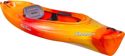 Old Town Canoes & Kayaks Vapor 10 Recreational Kayak (Sunrise, 10 Feet), Red Yellow Orange