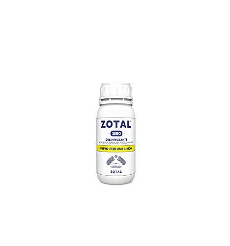 Zotal Zero DESINFECTANTE Nuevo Perfume Limon 250 ML